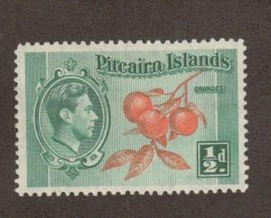 Pitcairn Islands 1 - Cluster Of Oranges. MNH. OG. #02 PITC1
