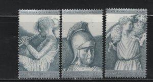 San Marino 1003-1005, MNH, 1981 Drawings based on Roman sculptures
