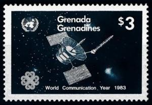 [66137] Grenada Grenadines 1983 Space Travel Weltraum Satellite From Set MNH