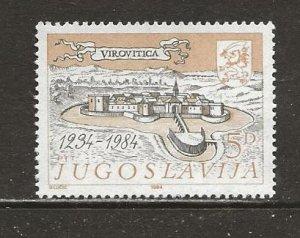 Yugoslavia Scott catalog # 1698 Mint NH