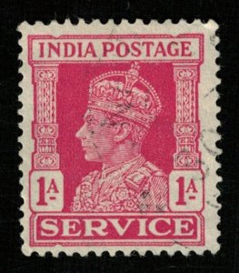 1939-1942, King George, India postage SERVICE, 1A (RT-870)