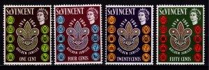 St Vincent 1964 50th Anniv of St Vincent Boy Scouts Assn, Set [Unused]