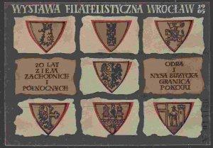 Poland - Philatelic Exhibition Wroclaw 1965