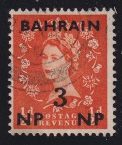 Bahrain 105 Queen Elizabeth II O/P 1957