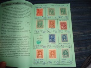 ECUADOR COLLECTION IN APPROVAL BOOK, MINT/USED