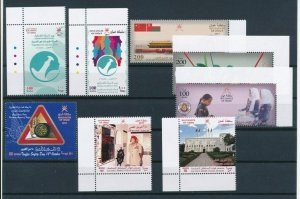 OMAN FRESH LOT OF 5 COMPLETE SET   Collection of Mideast  complete sets Mint NH
