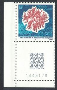 FSAT TAAF 'Peigne des Neriedes Antarctic Flora Corner Control Number 2005
