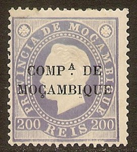 Mozambique Company Scott # 8 Mint / Unused Hinged. Perforated 13.5.