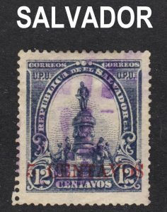 El Salvador Scott 312B F+  used.
