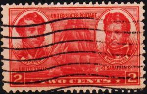 U.S.A. 1936 2c S.G.787 Fine Used
