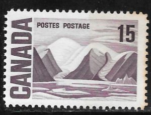 Canada 463: 15c Bylot Island by Lawren Stewart Harris, MNH, VF