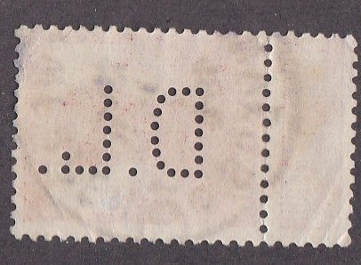 Belgium # 103, King Albert Perfin stamp, Used
