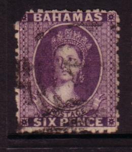 Bahamas  #14 Victoria (U) filler CV $85.00