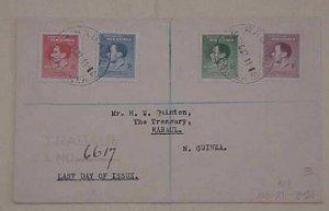 NEW GUINEE RABUAL REGISTERED 1937 DEC