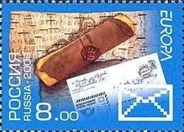 Russia 2008 MNH Stamps Scott 7067 Europa CEPT Writing Letters