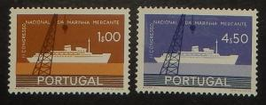 Portugal 838-39. 1958 Merchant Marine Congress