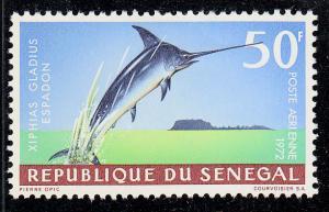 Senegal Swordfish (Scott #C115) MVLH
