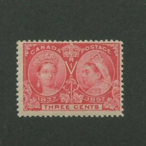 1897 Canada Postage Stamp #53 Mint Never Hinged F/VF