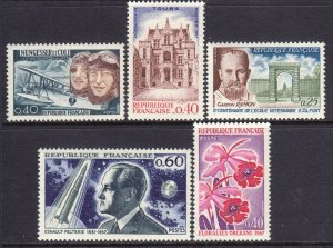 France 1967 Mint MNH Accumulation SC 1181,1182,1183,1184,1192