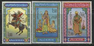 Algeria 1966 set of 3 mint o.g.