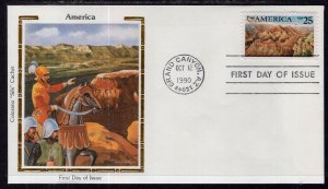 US 2512 Grand Canyon Colorano U/A FDC