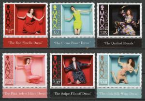 Isle of Man IOM 2018 MNH Preen by Thornton Bregazzi 6v Set Art Fashion Stamps
