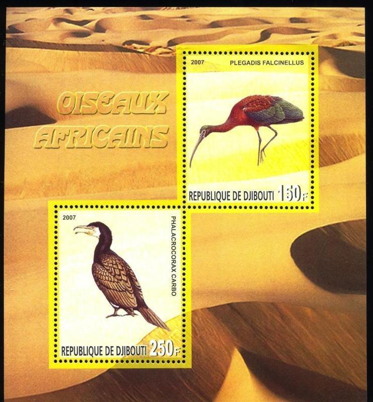 DJIBOUTI SHEET BIRDS