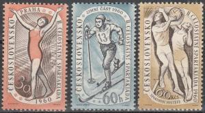 Czechoslovakia #955-7  MNH CV $3.20 (K606)
