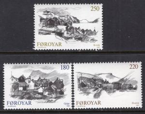 Faroe Islands 59-62 MNH VF