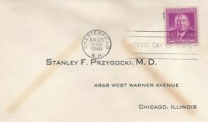 965 3c HARLAN F. STONE - Doctor's Reply Envelope