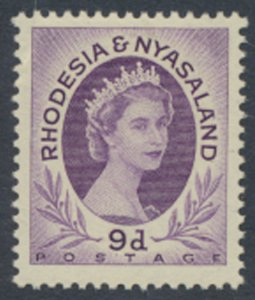 Rhodesia & Nyasaland SG 8 Sc# 148  MLH  please see  scan / details