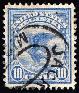 US STAMP BOB #F1 – 1911 10c Registration Stamp USED SUPERB