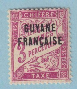 FRENCH GUIANA J5 POSTAGE DUE  MINT HINGED OG * NO FAULTS EXTRA FINE!