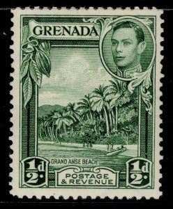 GRENADA GVI SG153, ½d yellow-green, LH MINT. Cat £16. PERF 12½
