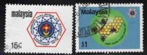 Malaysia Scott 168-169 Used Scout set
