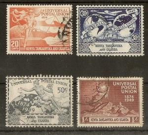 KUT 1949 UPU Set Fine Used