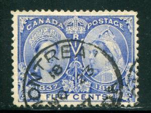 Canada #60  Used  F-VF  nice CDS