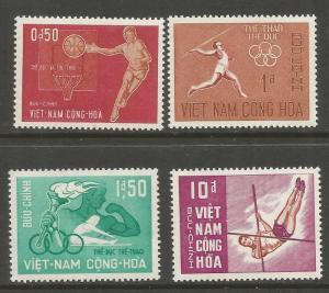 VIET NAM  272-275  MNH,  SPORTS