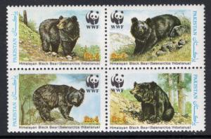 Pakistan 719 Bears MNH VF
