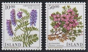 Iceland 663-664 MNH (1988)