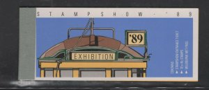 Australia #1156b (1989 Streetcars booklet) VFMNH CV $25.00