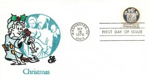 1978 Washington DC Christmas Andrea della Robbia Postal First Day Cover