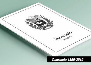 PRINTED VENEZUELA 1859-2010 STAMP ALBUM PAGES (460 pages)