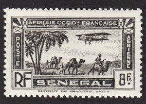 Senegal Scott C10 VF mint OG NH.