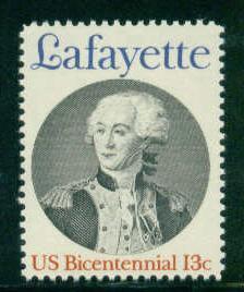 1716 13c Lafayette MNH Sht/40 UR 37978 Sht4893