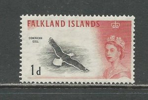Falkland Islands Scott catalog # 129 Unused HR See Desc