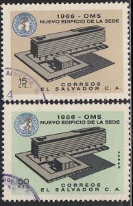 El Salvador #768 & C231 Used