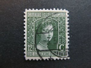 A4P26F40 Letzebuerg Luxembourg 1914-17 12 1/2c used