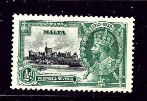 Malta 184 MNH 1935 KGV Silver Jubilee