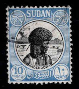 SUDAN Scott 103 Hadendowa stamp 1951